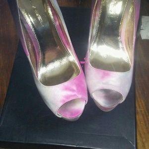 Tie-dye heels